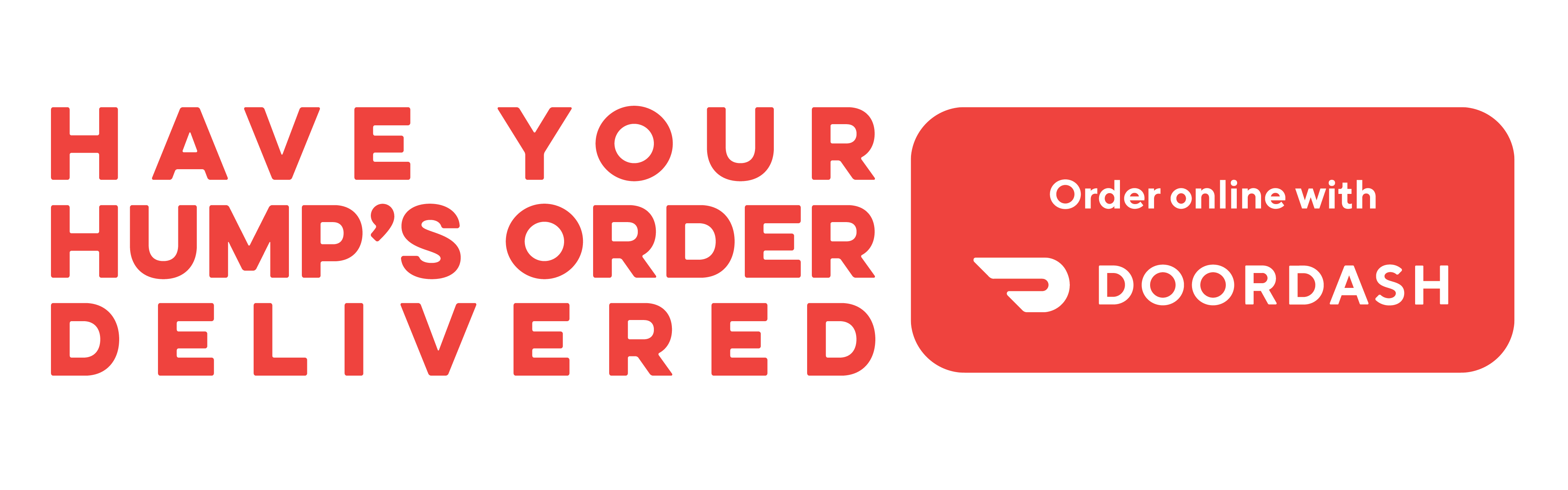 Have your Hump's delivered by DoorDash